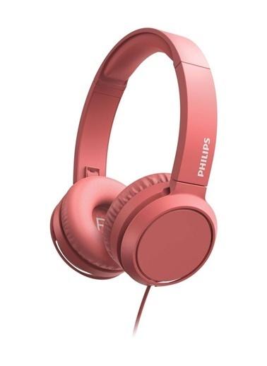 Philips Philips TAH4105 Pembe Kablolu Kulak Üstü Kulaklık Renkli